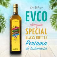 EVCO dengan Special Glass Bottle pertama di Indonesia